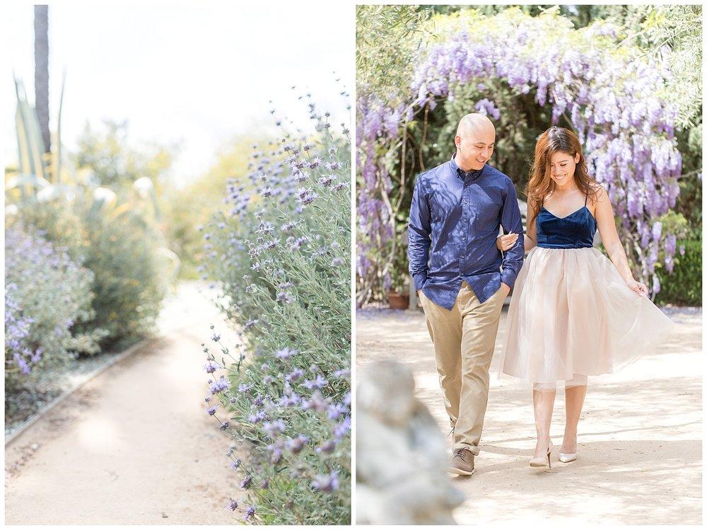 Brig + Kevin - pasadena engagement - arlington gardens in spring-0004.jpg