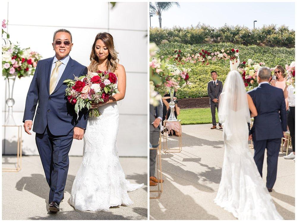 Carmen + Henry - Christ Chrystal Cathedral - orange county wedding - ceremony-0090.jpg