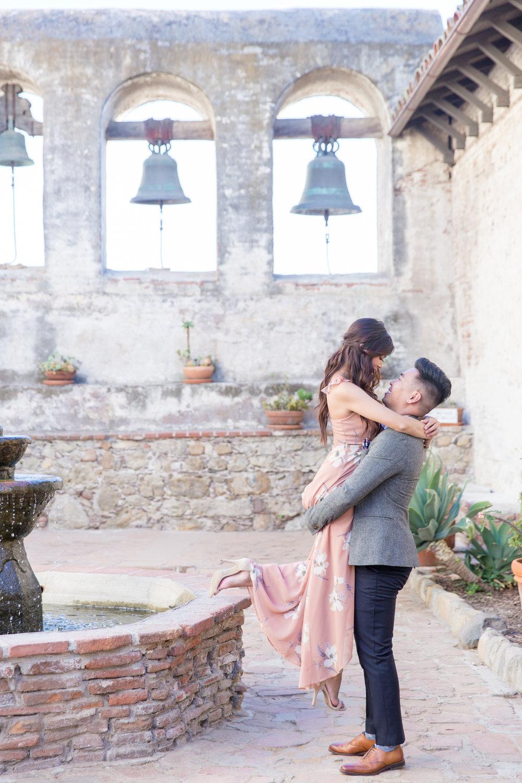 Christine + Dominic - mission san juan capistrano wedding anniversary - orange county-0052.JPG
