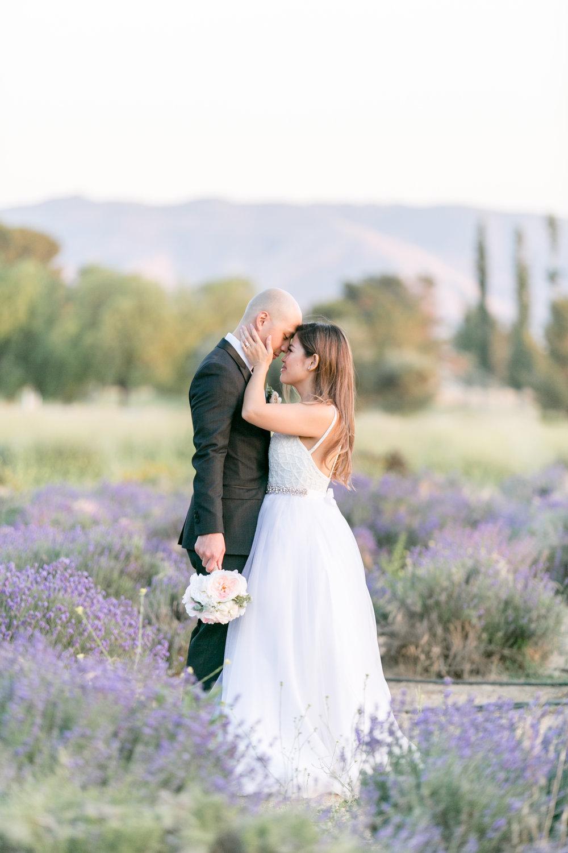 Brig + Kevin wedding - Highland Springs Ranch - lavendar farm - southern california - first look and couples portraits-0087.JPG