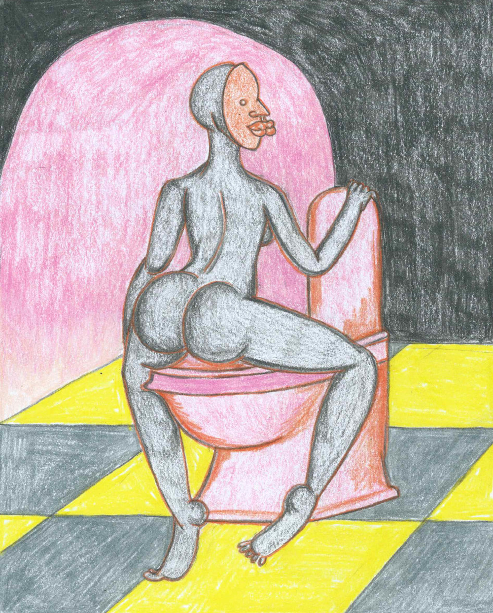 PEEING AT HOME