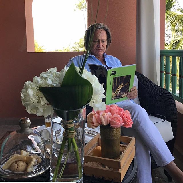 MIM6 is out 💚 #mohamedhadid @lamamouniamarrakech  _ MIM by la Mamounia #6 , the Music issue. See the link in bio, or go and get your copy @33ruemajorelle