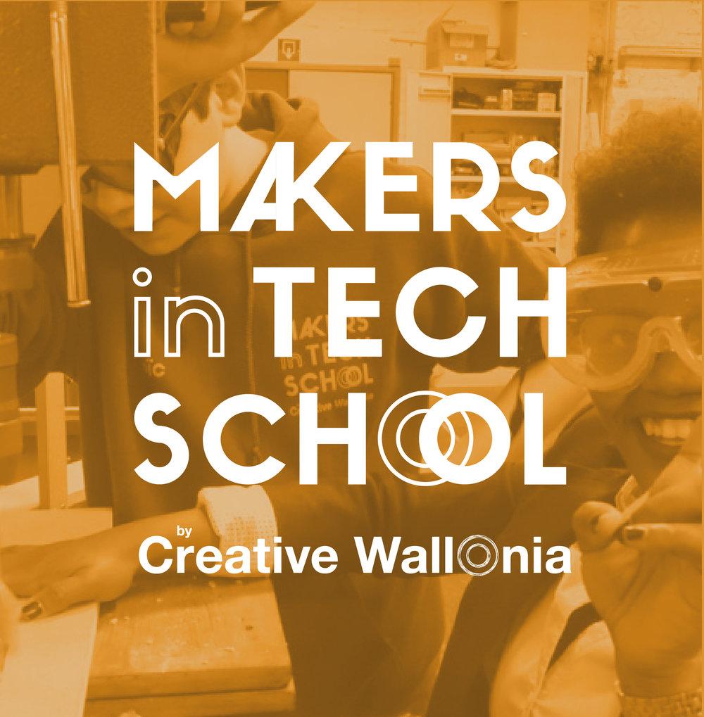 Makers in Tech School   Accompagnement de projets innovants dans les écoles techniques et professionnelles.