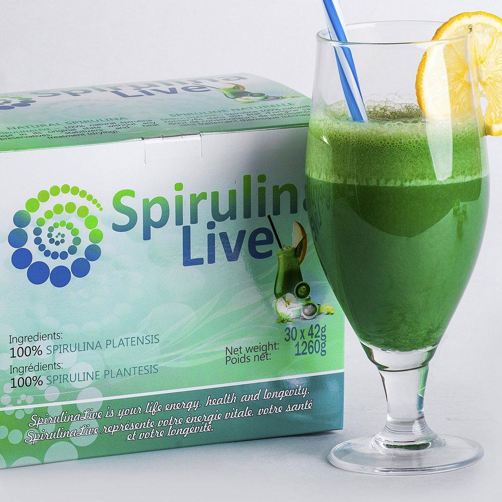 Spirulina Live -