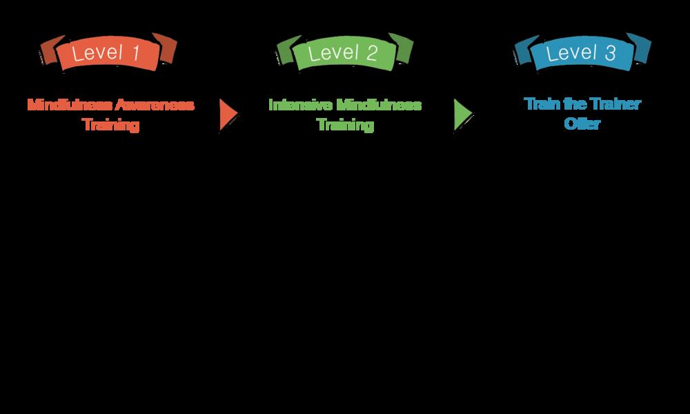 HeadStart Kent Mindfulness Training Levels training levels.png