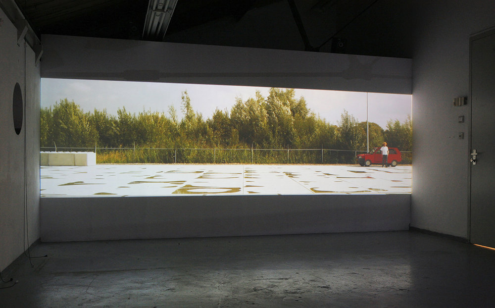 Installation view during RijksakademieOpen (2010) Photo: Willem Vermaase