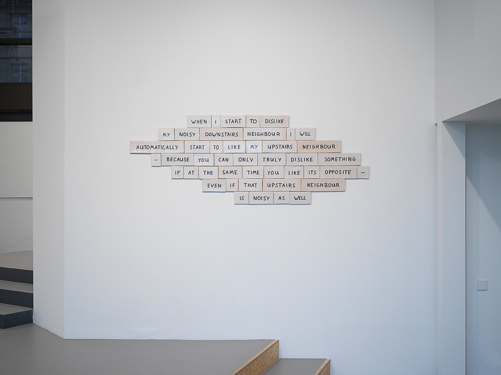 Installation view at Efremidis Gallery, Berlin