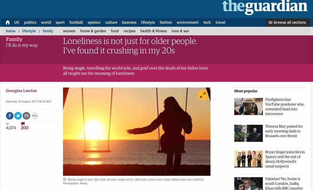 Georgina Lawton in The Guardian, 19/8/17