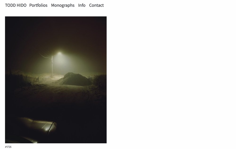 #1726 as displayed on Todd Hido's website