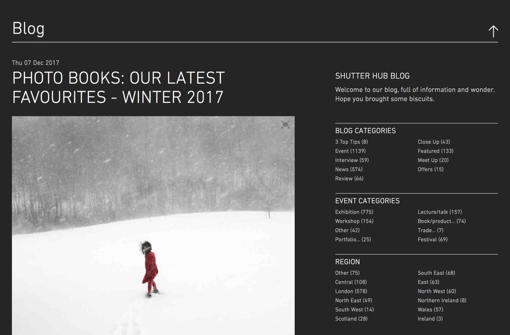 Book review published on Shutter Hub website last week