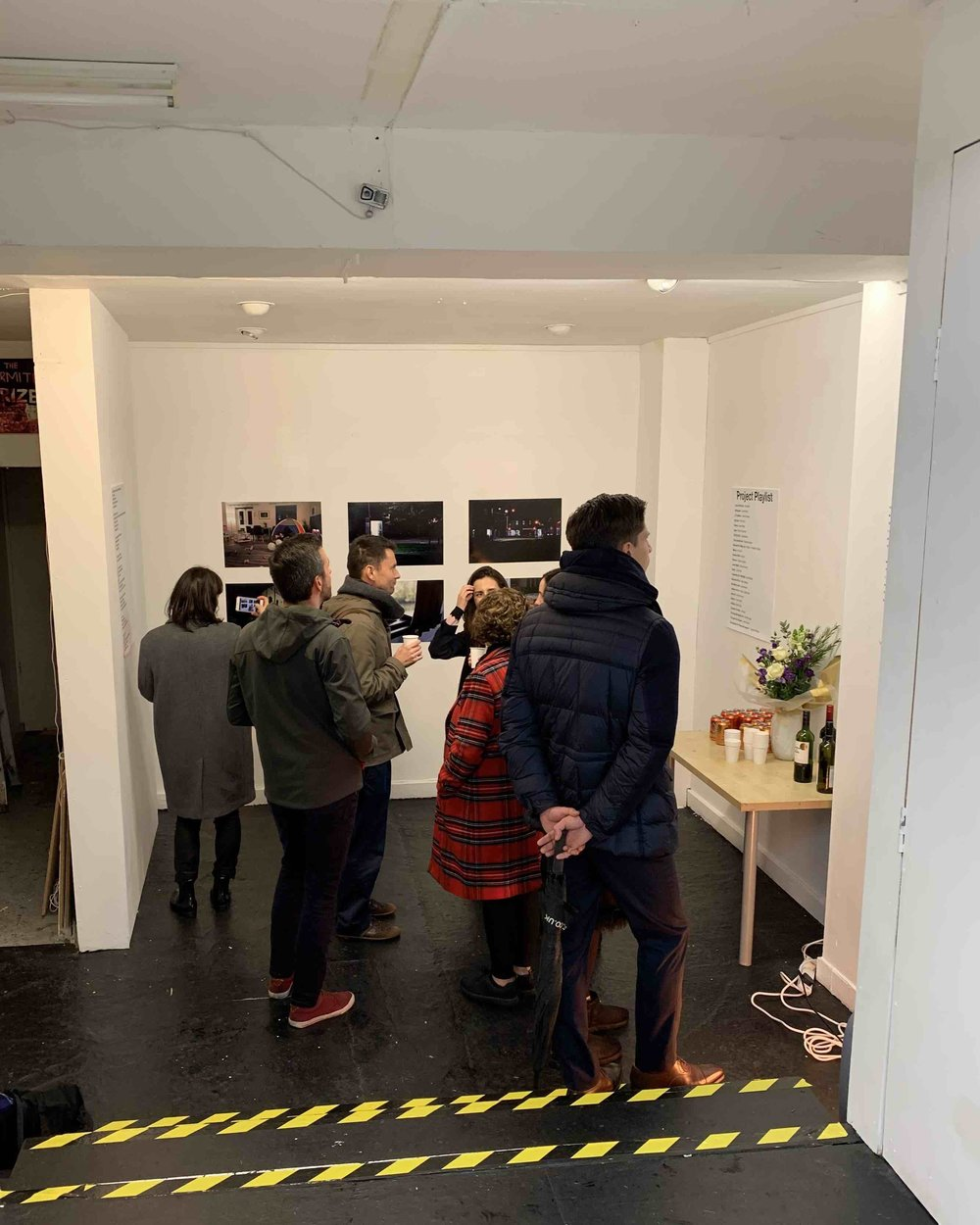 Visitors to the ROITD Private View