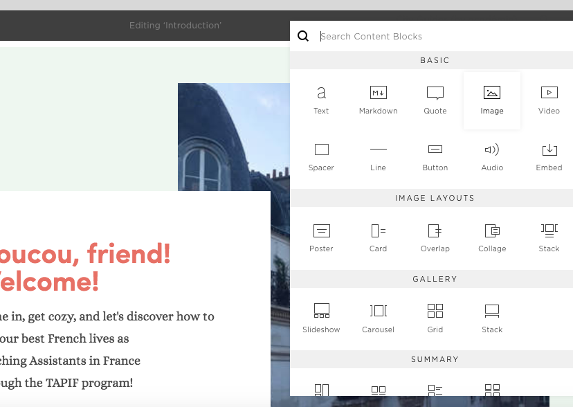 3. Begin Adding Photos:Format to Squarespace.png