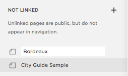 Change 'Copy of _____' to new page title.
