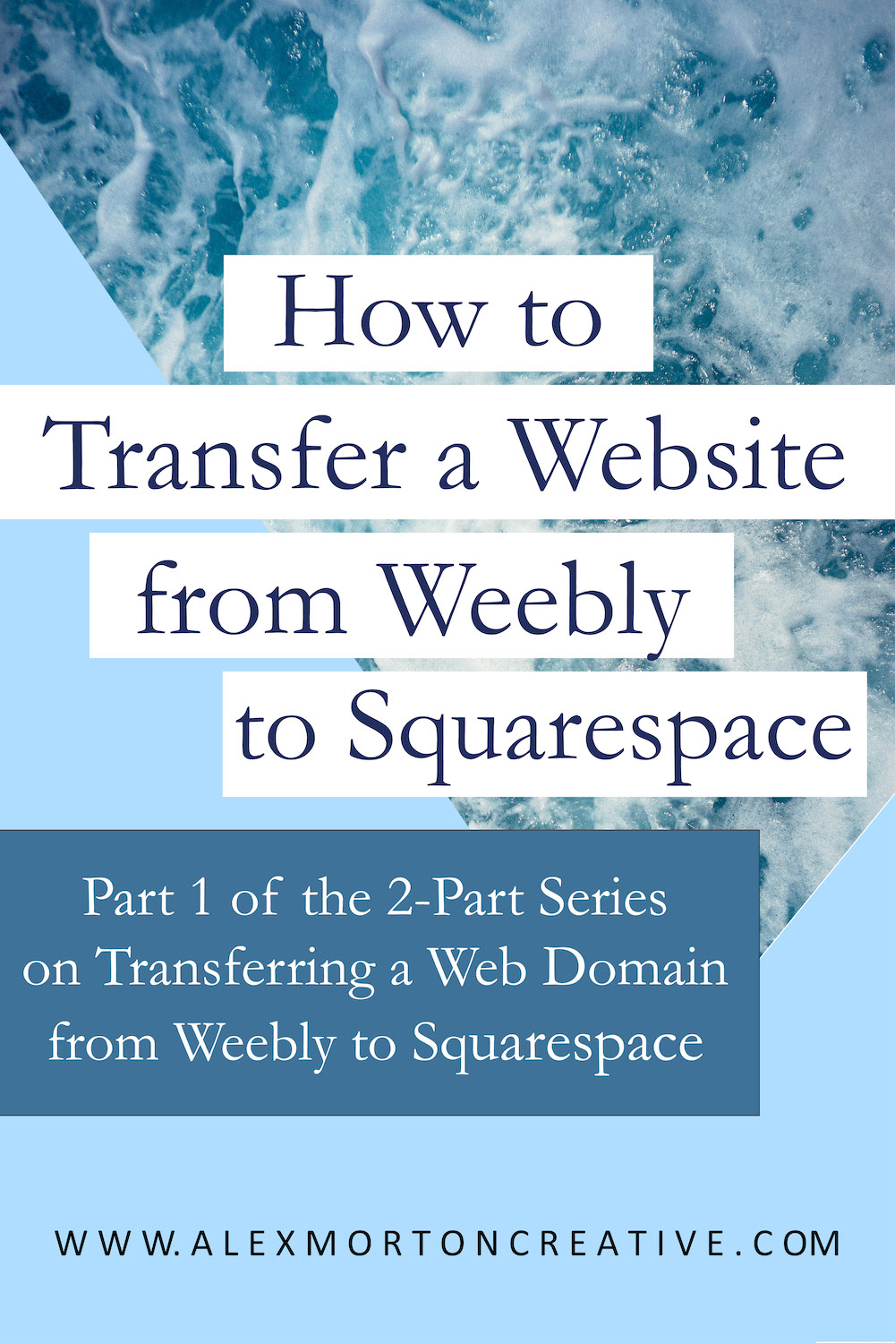 How to Transfer a Website from Weebly to Squarespace (Part 1) — Alex
