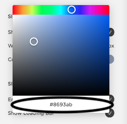 Changing background color of section in Squarespace