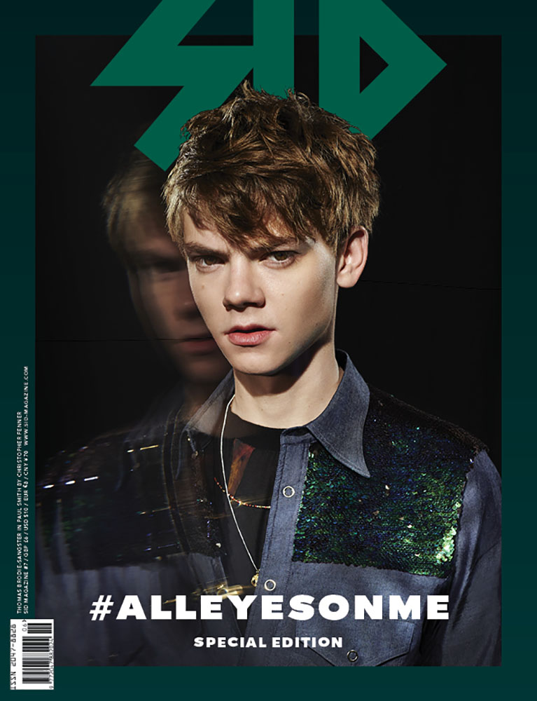 SID #7 Special Edition - Thomas Brodie-Sangster in Paul Smith