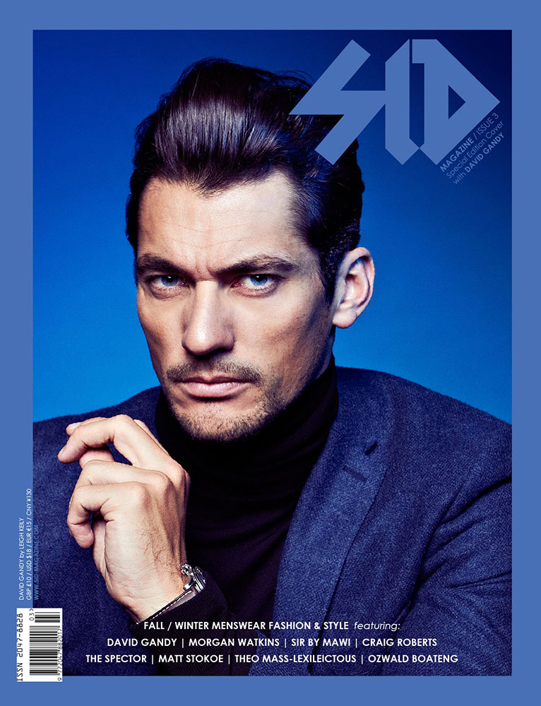 SID #3 Special Edition - David Gandy in Ozwald Boateng
