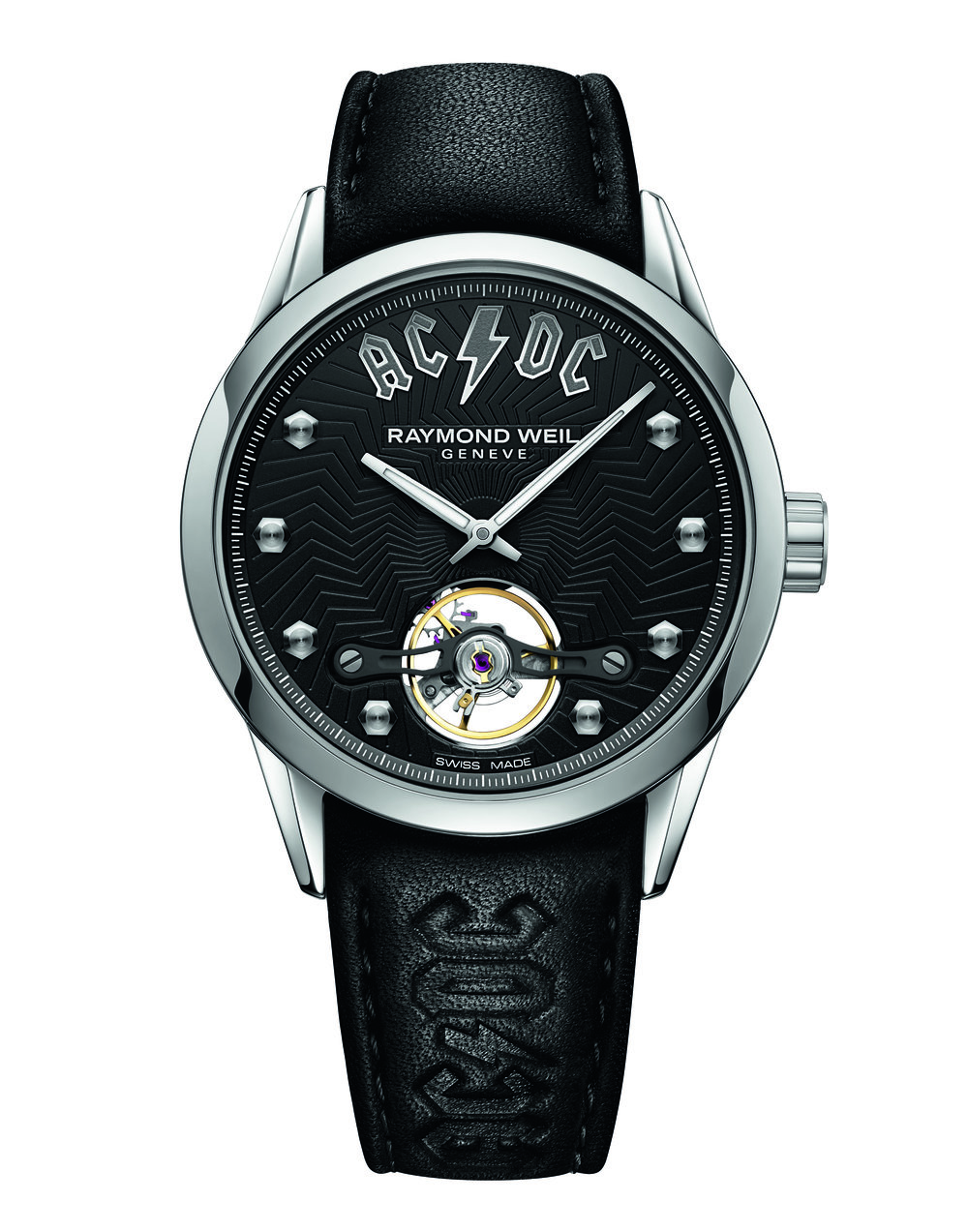'AC/DC Limited Edition' Freelancer by RAYMOND WEIL - £1,795   www.raymond-weil.co.uk