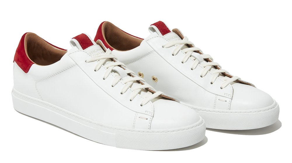 'Officina' Leather Sneakers by SLOWEAR - £345   www.slowear.com
