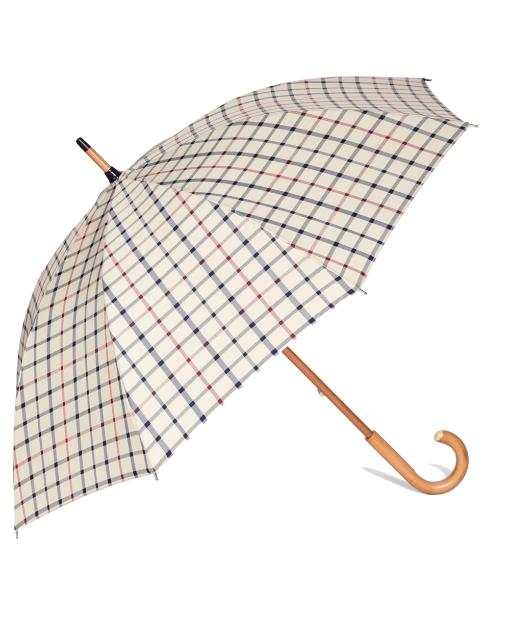 Tattersall Umbrella by BROOKS BROTHERS - £79   www.brooksbrothers.com