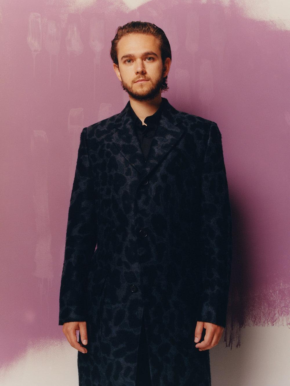 Zedd in wool coat by STELLA McCARTNEY