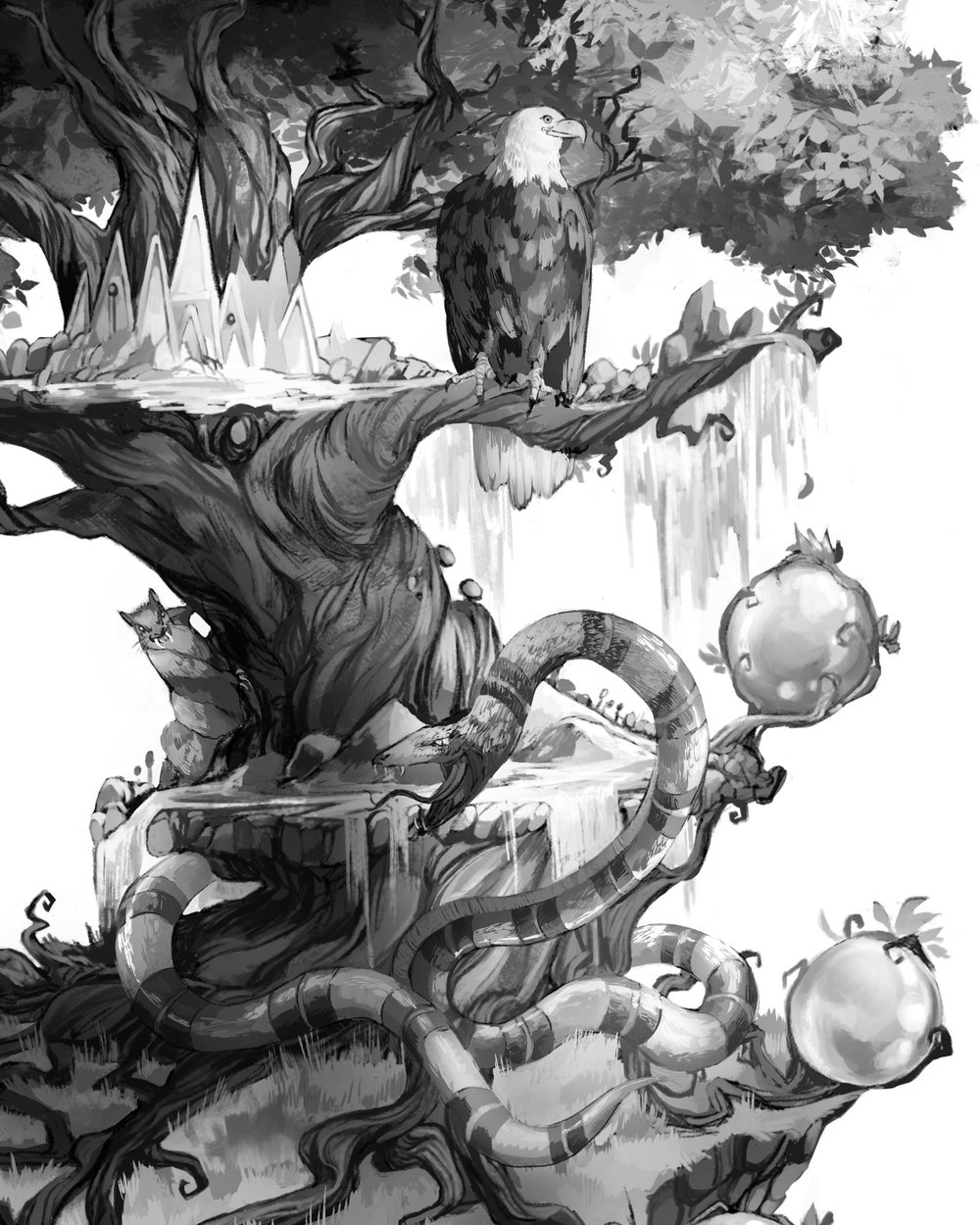 22_Nidhogg Ratatosk and Eagle Combined in Yggdrasil.jpg