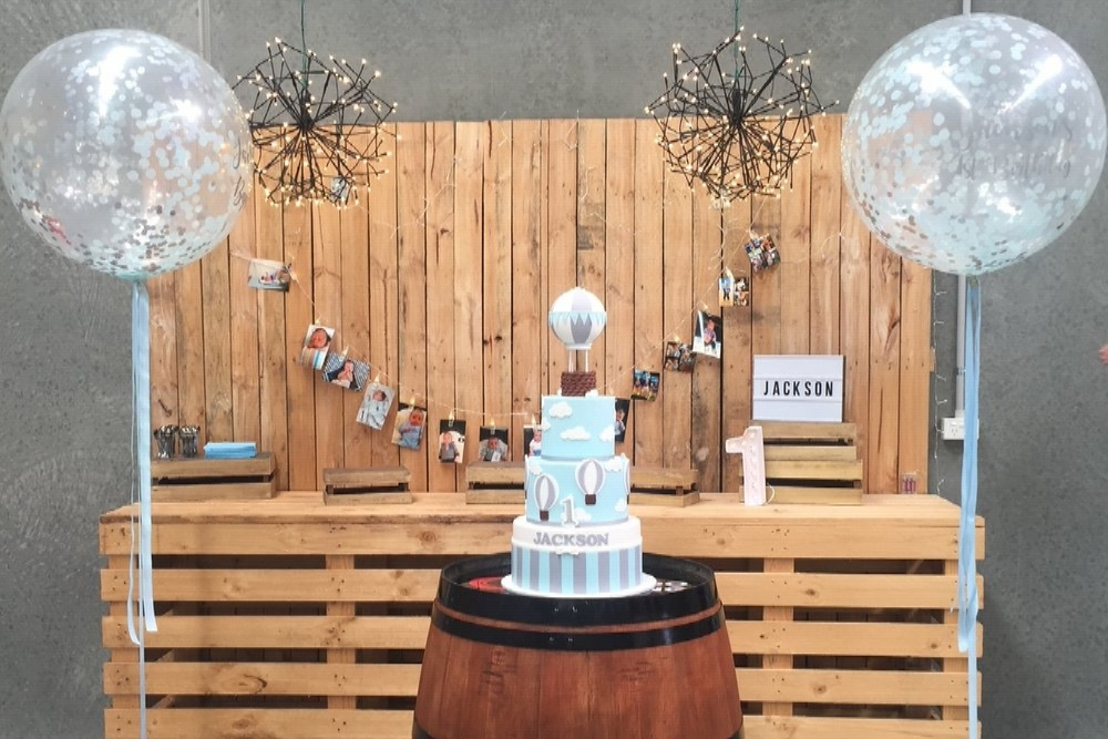The Stylist's Guide Adelaide - baptism, first birthday