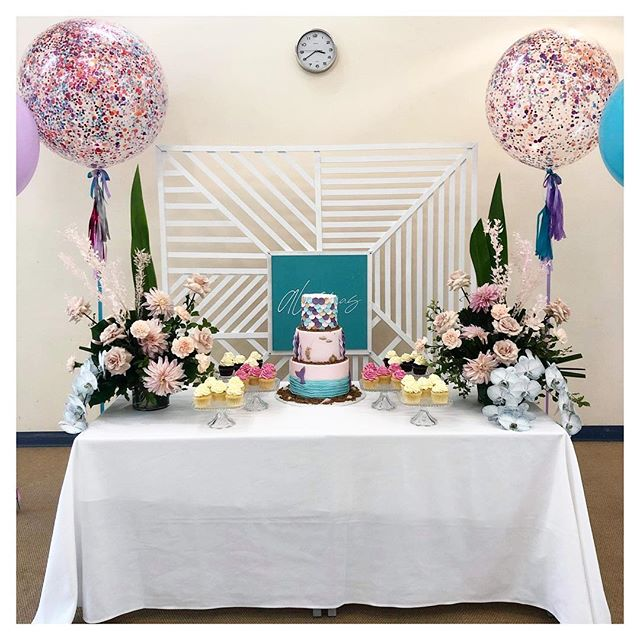 A L E S S I A turns O N E 💜 so much fun working with Alessia's mummy @livingbeautyamelia to bring her vision to life for her special little girl 🧜🏻‍♀️ How did we help? Services provided We plan, you relax + – On The Day Event Coordination & Styling along with our Crystal Look Cake Stands 💜 #partywithalessia #alessiaturnsone #firstbirthday #partydecorations #partytime #eventdecoration #littlegirl #babygirl #one #birthday #happybirthday #thestylistsguideadl