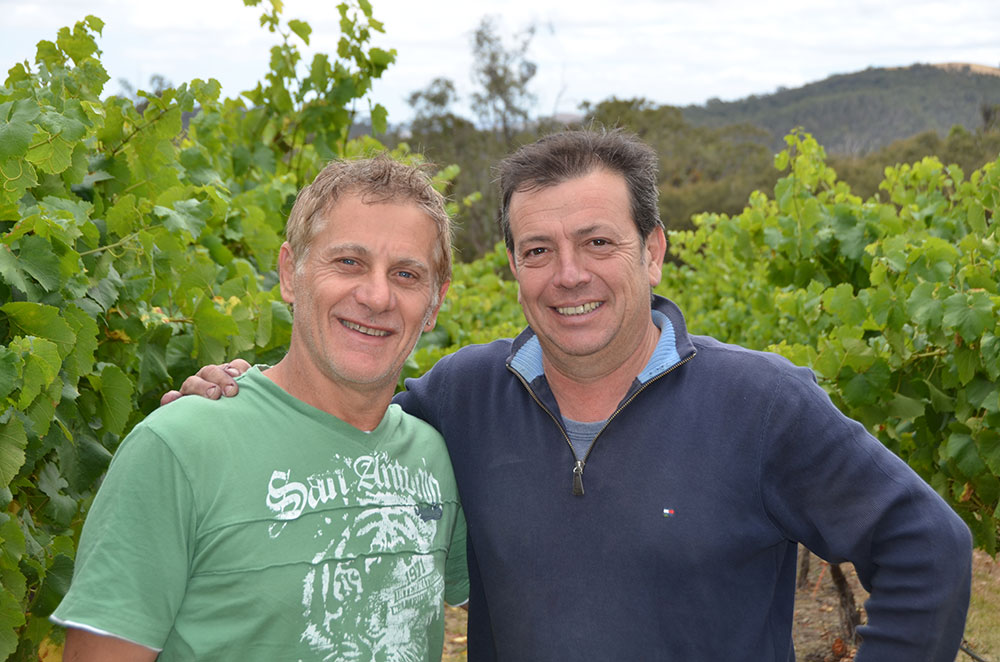 Nick Arena and Oscar Rosa - Owners and Chief Winemakers