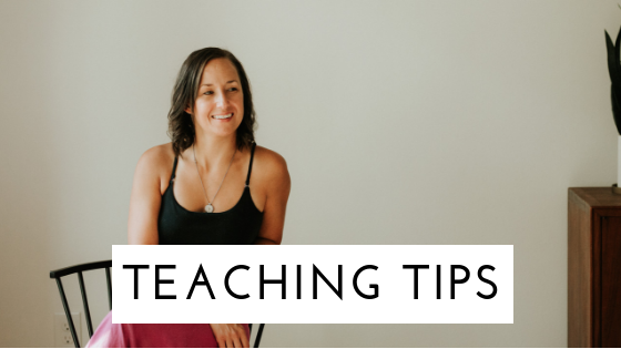 Teaching tips for orientation and mobility specialists