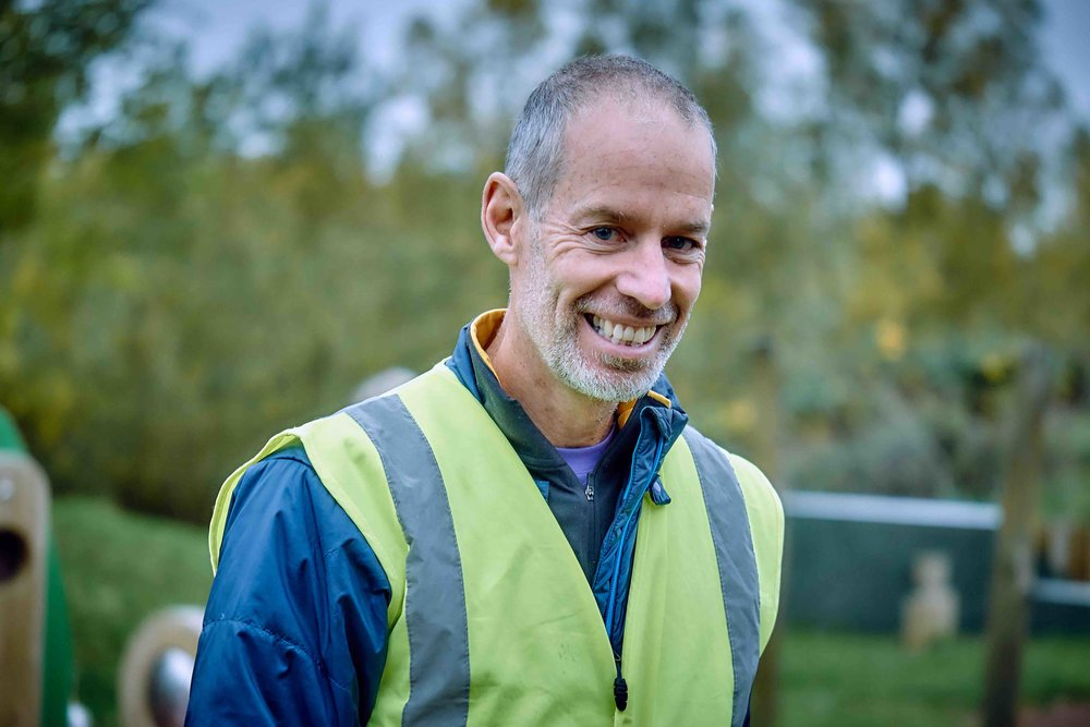 Paul Sinton-Hewitt, the brains behind and founder of parkrun