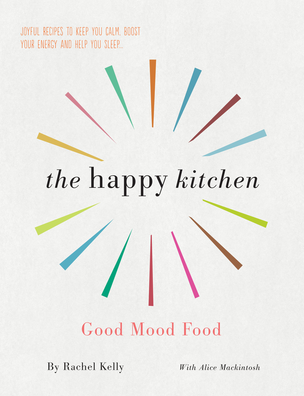 Above:  The Happy Kitchen book  And right:  Rachel and Alice