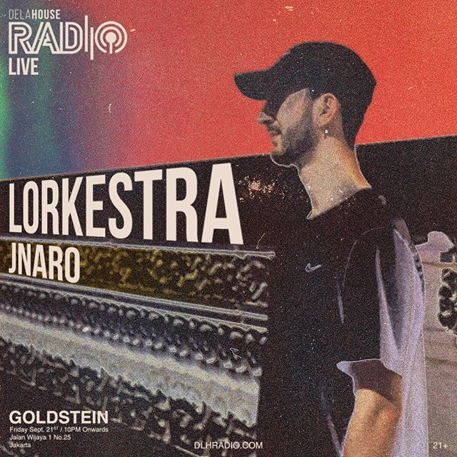 Dig a bit deeper tonight. Goldstein's happenings with De La House Radio, featuring Lorkestra and Jnaro from 9pm onwards.