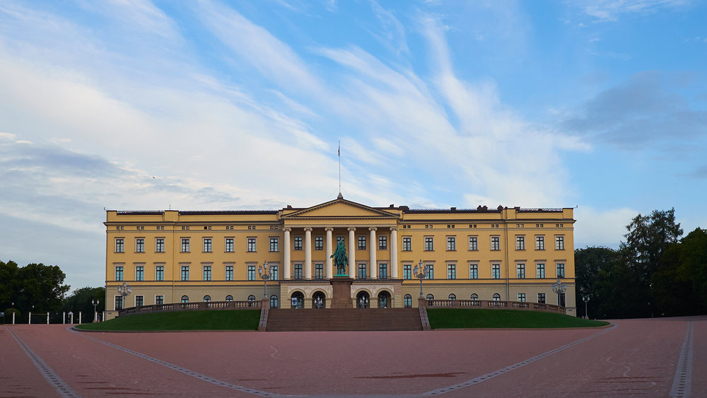 Oslo's royal castle