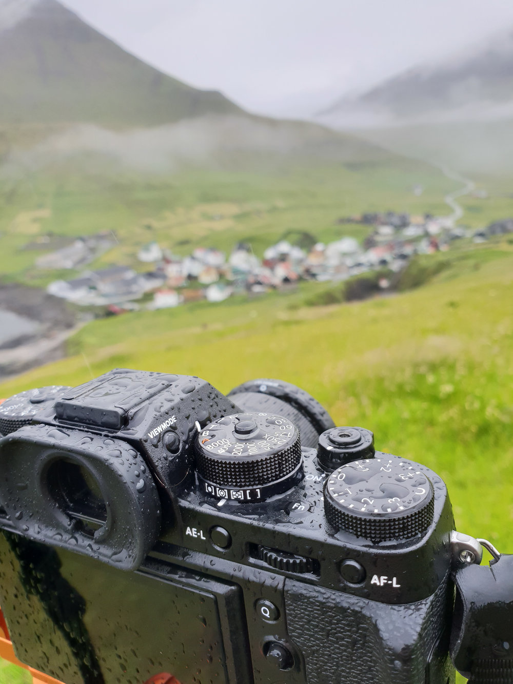 Weather sealing isn't necessary for the most part but on the Faroes it really helps