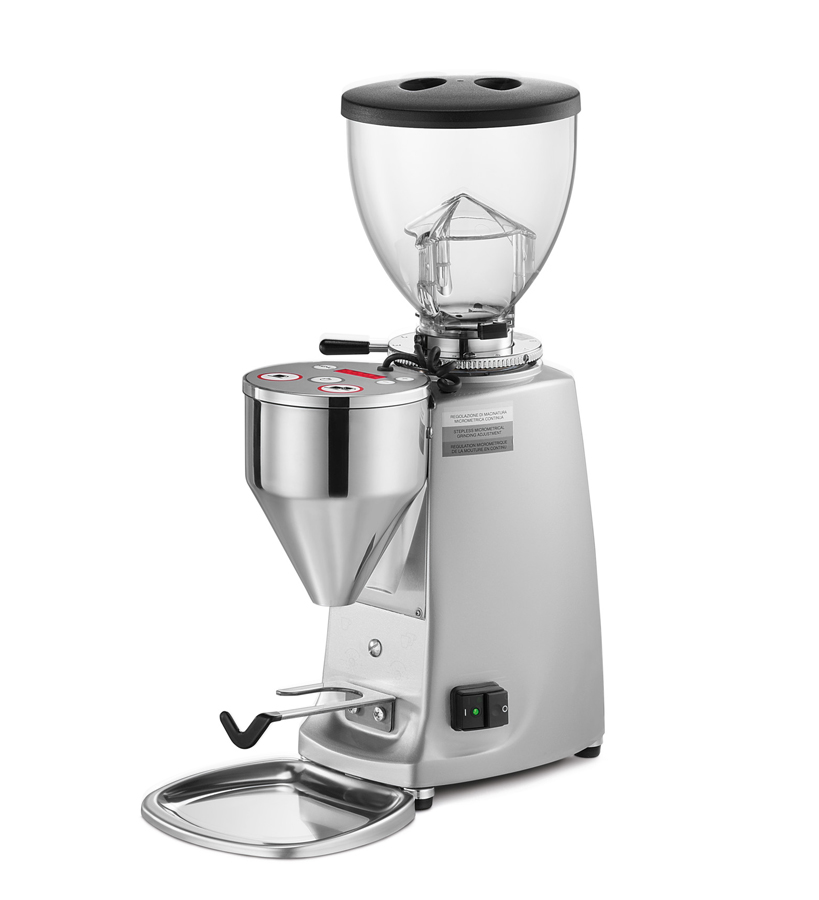 Mini Electronic A   Electronic grinder-doser with flat blades suitable for low consumption (decaf, single-origin coffee).