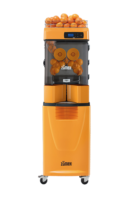 Versatile Pro Podium   The Versatile Pro Podium commercial juicer provides a healthy and fresh option for hotels, convenience stores, service stations and natural product supermarkets.