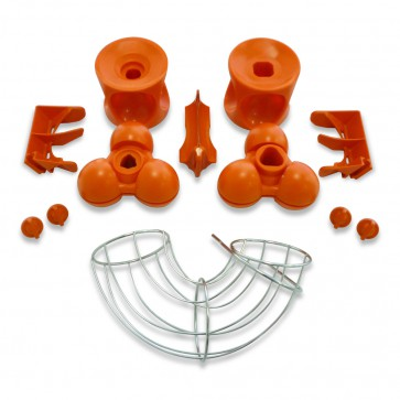 Kit I Speed Pro   This accessory is ideal to squeeze fruits such as pomegranate, grapefruits, and larger citrus that are up to 3.7'' in diameter.