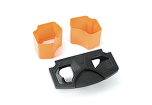 Countertop Kit Ess/ vers Orange   Connects the machine and the countertop thus improving waste management with an integrated solution.