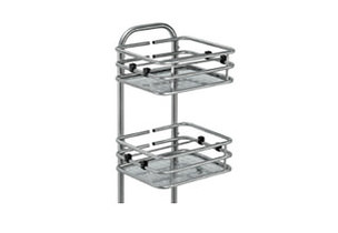Bottle Rack Versatile Pro Podium  (Includes 3 trays)  Ideal for self-service contexts where there is a need to distribute bottles, cups or glasses. Includes three trays (prepared with 4 heights). When installed, it is integrated with the podium and enables ease of movement.