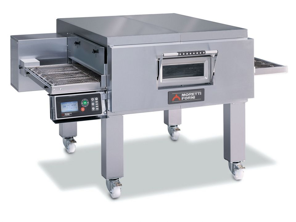 T98E   MULTIFUNCTIONAL TOP-QUALITY CONVEYOR OVEN WITH ELECTRONIC CONTROL   Available in 1, 2 or 3 Decks