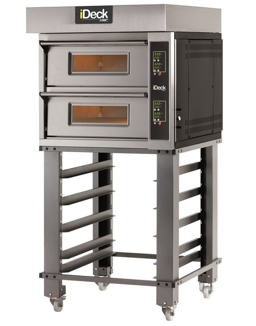 iD.M - iD.D Small   SINGLE CHAMBER OR DUAL BAKING CHAMBERS WITH ELECTRONIC CONTROL  Available in 1, 2 or 3 Decks