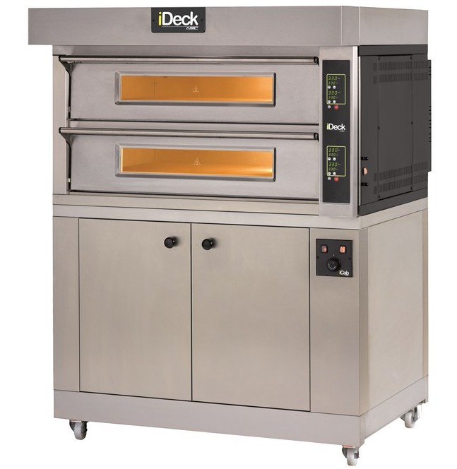 iD.M - iD.D Medium - Large   SINGLE CHAMBER OR DUAL BAKING CHAMBERS WITH ELECTRONIC CONTROL  Available in 1, 2 or 3 Decks