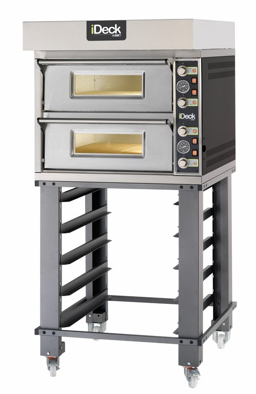 PM - PD Small  SINGLE CHAMBER OR DUAL BAKING CHAMBERS WITH MECHANICAL CONTROL   Available in 1, 2 or 3 Decks