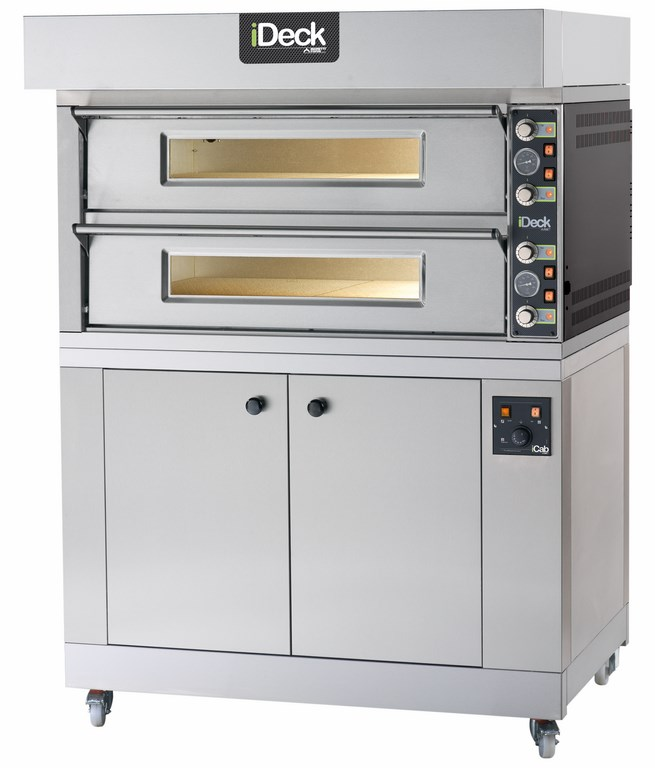 PM - PD Medium - Large  SINGLE CHAMBER OR DUAL BAKING CHAMBERS WITH MECHANICAL CONTROL  Available in 1, 2 or 3 Decks