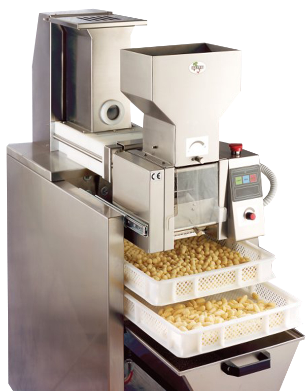 GN90   Gnocchi machine Hourly production: 90 Kg