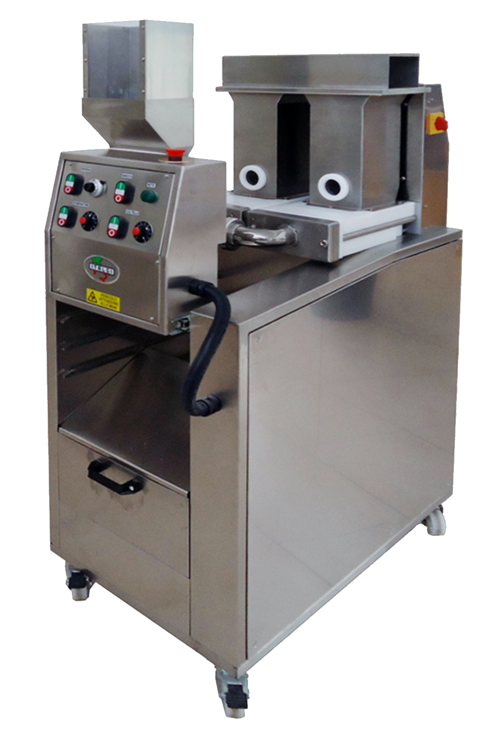 GR60   Stuffed gnocchi machine - filled gnocchi machine Hourly production: 60 Kg