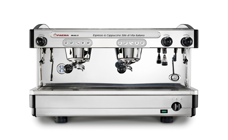 Quality in every cup - high performance fixed-nozzle thermosyphon system able to guarantee an excellent result in the cup.