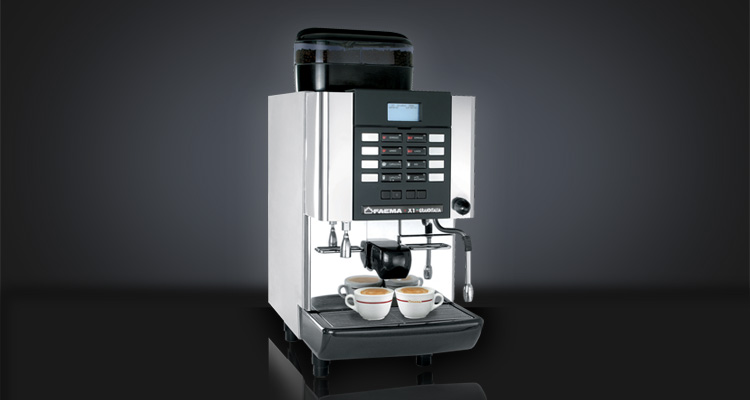 Performances - Designed for locations where espresso coffee is not the core business (up to 150 cups per day) and space is a critical factor
