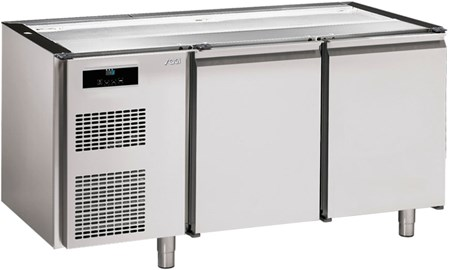 KBS16   PASTRY REFRIGER. COUNTER NO TOP,2 DOORS 60x40 CM  Temperature ranges, °C-2/+8  Dimensions (LxDxH), cm 160 x 72,5 x 83